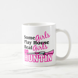 Real Girls Go Huntin' Coffee Mug