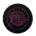 Real Girls Play Bass 2 purple.png Dart Board