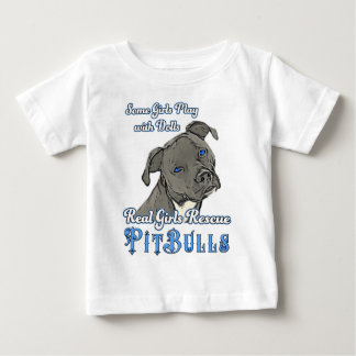 Real Girls Rescue Pit Bulls Baby T-Shirt