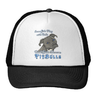 Real Girls Rescue Pit Bulls Trucker Hat