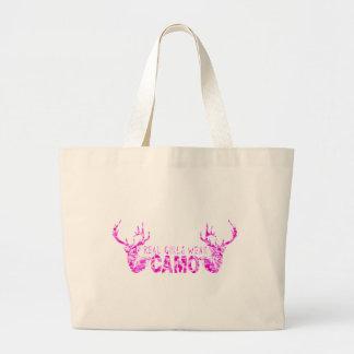 REAL GIRLS WEAR CAMO TOTE BAG