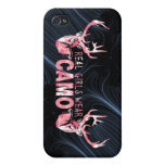 REAL GIRLS WEAR CAMO iPhone 4/4S CASES