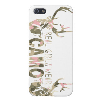 REAL GIRLS WEAR CAMO CASES FOR iPhone 5