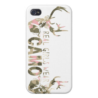 REAL GIRLS WEAR CAMO CASES FOR iPhone 4