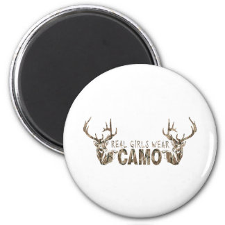 REAL GIRLS WEAR CAMO MAGNET