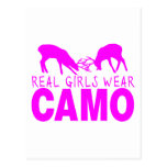 REAL GIRLS WEAR CAMO POSTCARDS