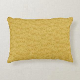 Real Gold Textured Designer Accent Pillows