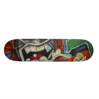 Real Graffiti CaveMAN! Skate Board