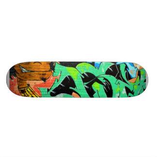 Real Graffiti Urban Boy Chillin Skate Board