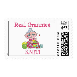 Real Grannies KNIT! Postage