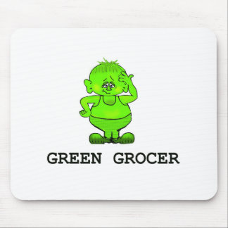 Real Green Grocer Mouse Pad