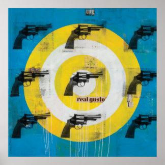 Real Gusto 44 Caliber Print