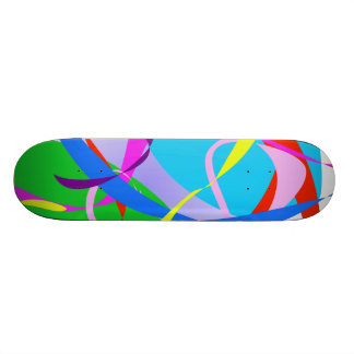 Real Happiness Abstract Design Skateboard Decks