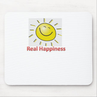 real happiness mouse pad