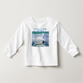 """Real"" Harp Seals Kids Top T-shirt"