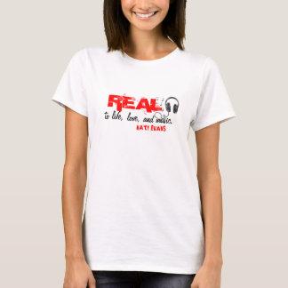 REAL (Headphone) T-shirt