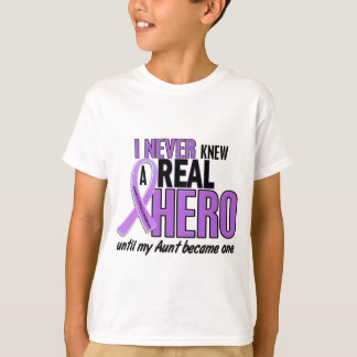 REAL HERO 2 Aunt HODGKIN'S DISEASE T-Shirts