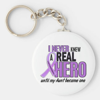REAL HERO 2 Aunt HODGKIN'S DISEASE T-Shirts Keychain