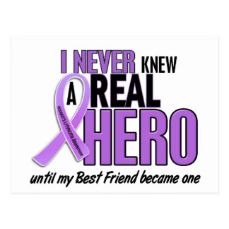 REAL HERO 2 Best Friend HODGKIN'S DISEASE T-Shirts Postcard