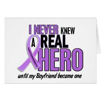 REAL HERO 2 Boyfriend HODGKIN'S DISEASE T-Shirts Card