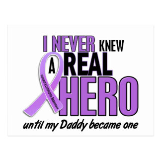 REAL HERO 2 Daddy HODGKIN'S DISEASE T-Shirts Postcard