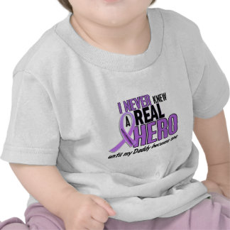 REAL HERO 2 Daddy HODGKIN'S DISEASE T-Shirts