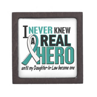 Real Hero 2 Daughter-In-Law Cervical Cancer Keepsake Box