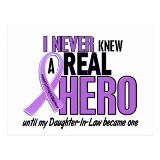 REAL HERO 2 Daughter-In-Law HODGKIN'S DISEASE Tees Postcard