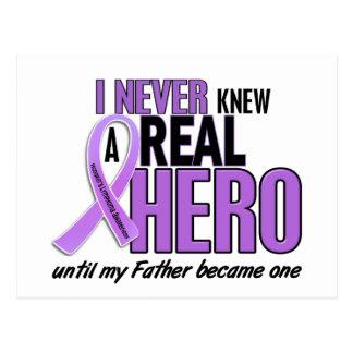 REAL HERO 2 Father HODGKIN'S DISEASE T-Shirts Postcard
