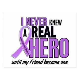 REAL HERO 2 Friend HODGKIN'S DISEASE T-Shirts Postcard