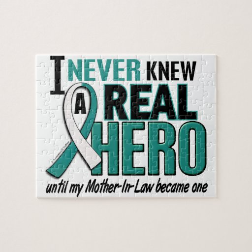 Real Hero 2 Mother-In-Law Cervical Cancer Jigsaw Puzzles