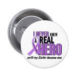 REAL HERO 2 Sister HODGKIN'S DISEASE T-Shirts Pins