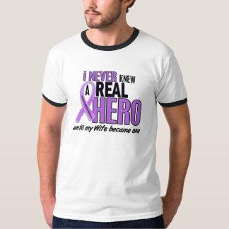 REAL HERO 2 Wife HODGKIN'S DISEASE T-Shirts