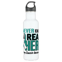 Real Hero Cousin Cervical Cancer Stainless Steel Water Bottle