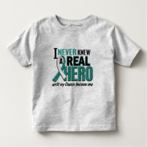 Real Hero Cousin Cervical Cancer Toddler T-shirt