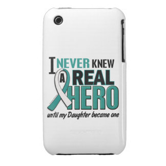 Real Hero Daughter Cervical Cancer iPhone 3 Case