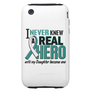 Real Hero Daughter Cervical Cancer Tough iPhone 3 Cases