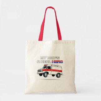 Real Hero EMT Budget Tote Bag