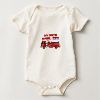 Real Hero Firefighter Baby Bodysuit