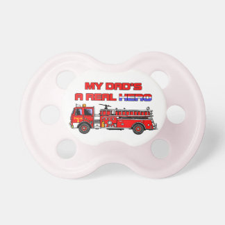 Real Hero Firefighter Pacifier