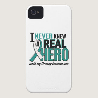 Real Hero Granny Cervical Cancer iPhone 4 Case