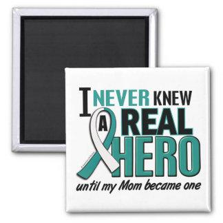Real Hero Mom Cervical Cancer Magnet