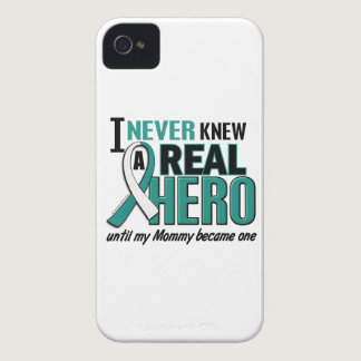 Real Hero Mommy Cervical Cancer Case-Mate iPhone 4 Case