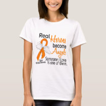 Real Heroes Become Angels Multiple Sclerosis T-Shirt