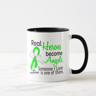 Real Heroes Become Angels Muscular Dystrophy Mug