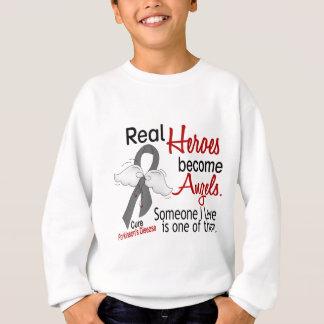 Real Heroes Become Angels Parkinson's Disease Sweatshirt