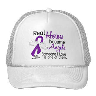Real Heroes Become Angels Sarcoidosis Trucker Hat