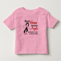 Real Heroes Become Angels Skin Cancer Toddler T-shirt