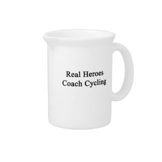 Real Heroes Coach Cycling Pitcher