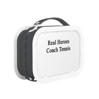 Real Heroes Coach Tennis Yubo Lunchbox